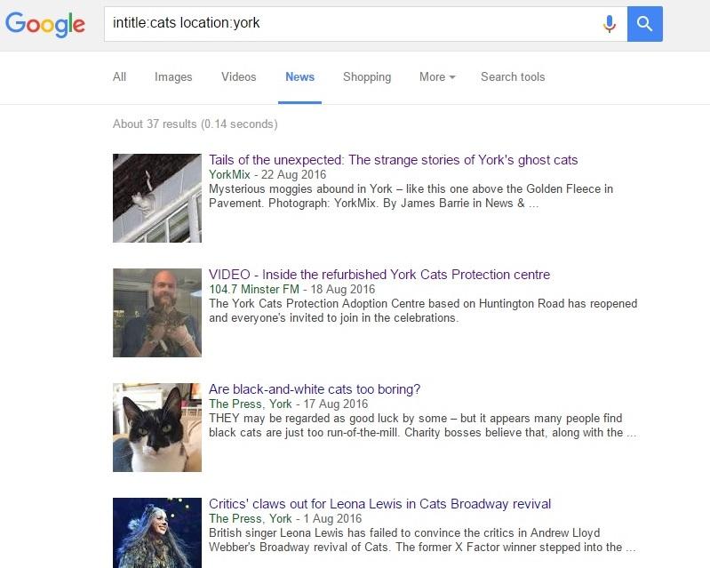 Actualités de Google