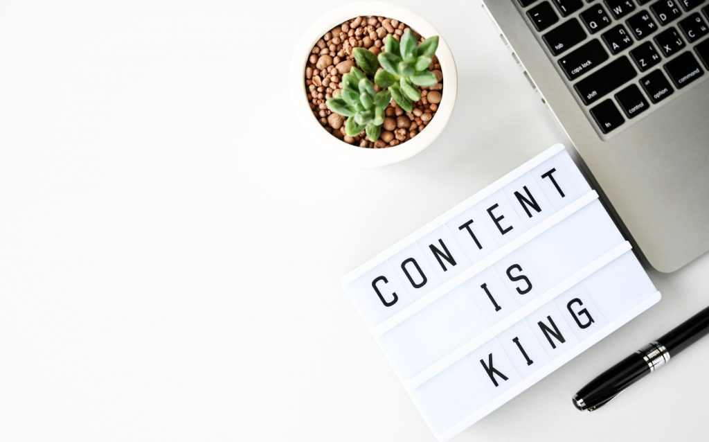 Content Is King For Website Traffic